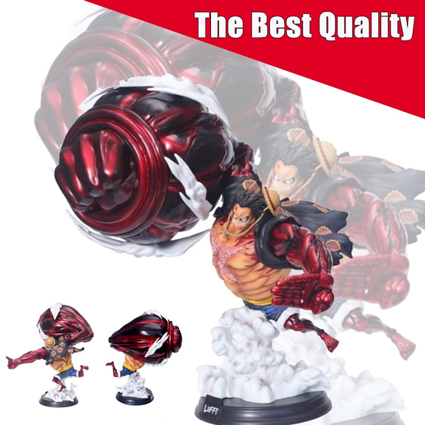 Anime One Piece Monkey D Luffy Gear 4 Kong Gun Gk Pvc Action Figure Statue Collection Model Toys Doll Gift 39cm
