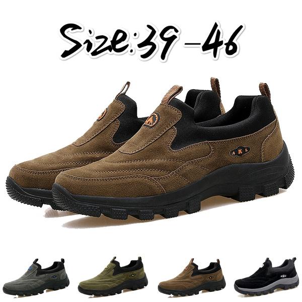 Camouflage style Men Hiking Boots scarpe da trekking da uomo Waterproof Hiking Shoes scarpe da uomo Genuine Leather Outdoor Sneakers for Men Large