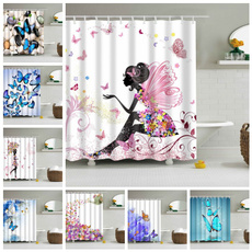 pink, butterfly, Baño, Bathroom Accessories