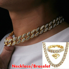 Men Jewelry, Chain Necklace, hip hop jewelry, icedoutchain