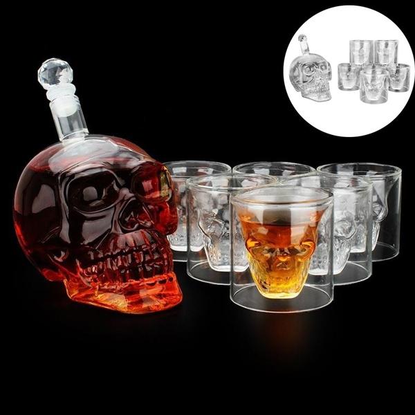 decantersforalchohol, vodka, skullheadbottle, skull