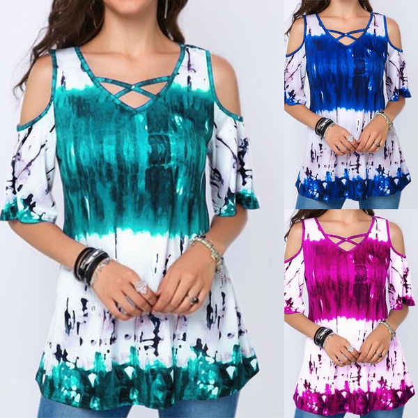 blouse, Summer, Plus Size, tunic