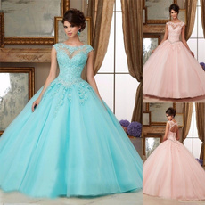 pink, gowns, Sweets, Dress