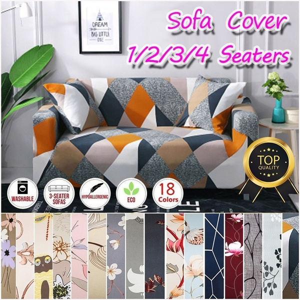 Astounding Top Quality Popular Modern 18 Colors 1 2 3 4 Seaters Printing Sofa Cover Anti Dirty Anti Slip Full Tight Wrap Couch Cover All Inclusive Furniture Caraccident5 Cool Chair Designs And Ideas Caraccident5Info