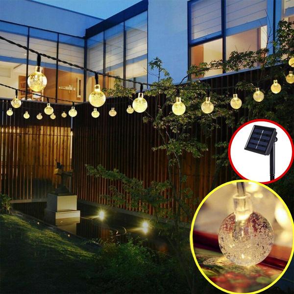Solar 10 20 30led Garden Fairy Light