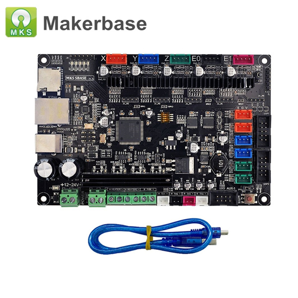 3D Printer Parts Smoothieboard MKS SGen Controller Board Smoothiewaere with  MKS TFT32 V4 0 Touch Screen MKS SBASE upgraded
