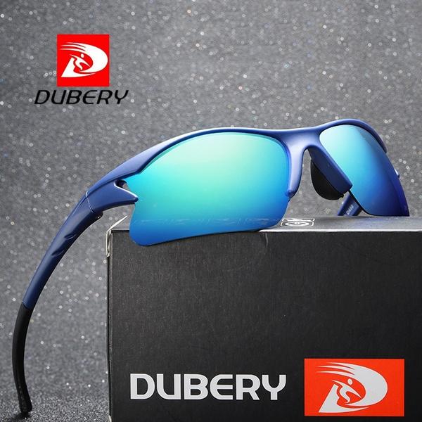 DUBERY Men/'s Polarized Sunglasses Driving Outdoor Sport Riding Glasses 2019