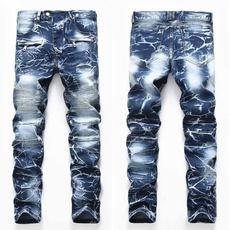 jeansformen, bikerjeansformen, Elastic, men's jeans