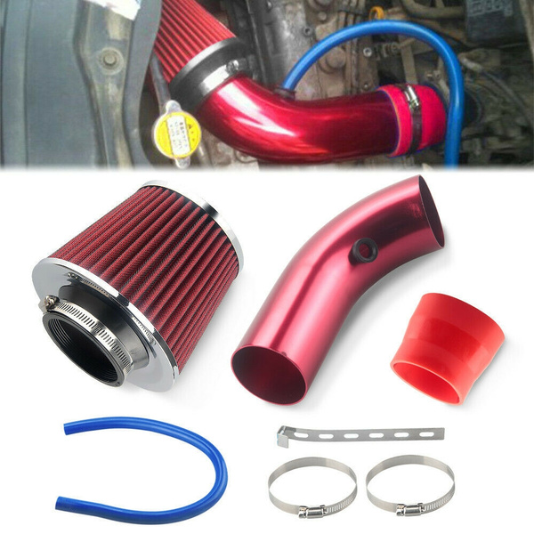 Durable Cold Air Intake Filter Car Auto Alumimum Induction Kit Pipe Hose System