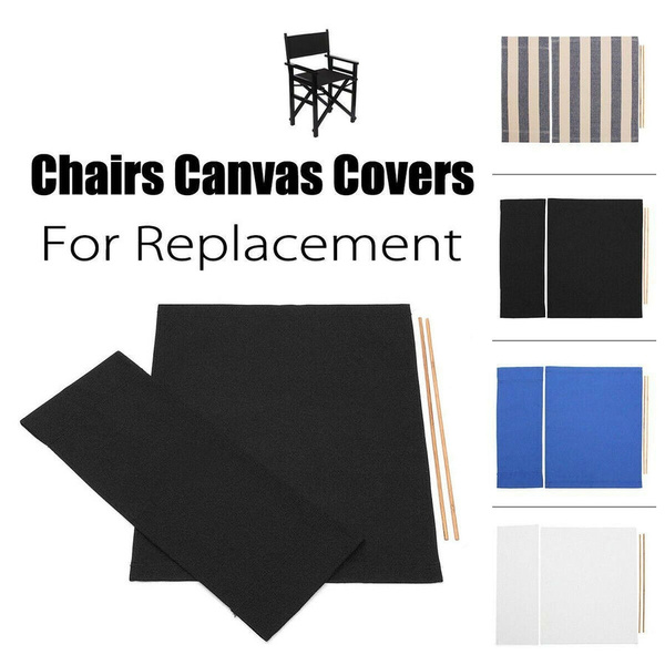 Excellent Casual Directors Chair Replacement Waterproof Canvas Seat Covers Stool Protector Simple Solid Seat Covers Set Outdoor Garden Creativecarmelina Interior Chair Design Creativecarmelinacom