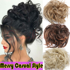 Beauty Makeup, scrunchie, Elastic, Hair Extensions