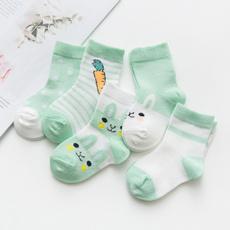 cute, Cotton Socks, Summer, Breathable