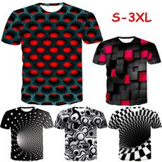 Summer, Cotton T Shirt, Funny, Blusas