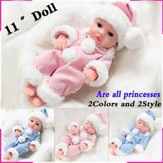 Toy, Christmas, realisticbabydoll, doll