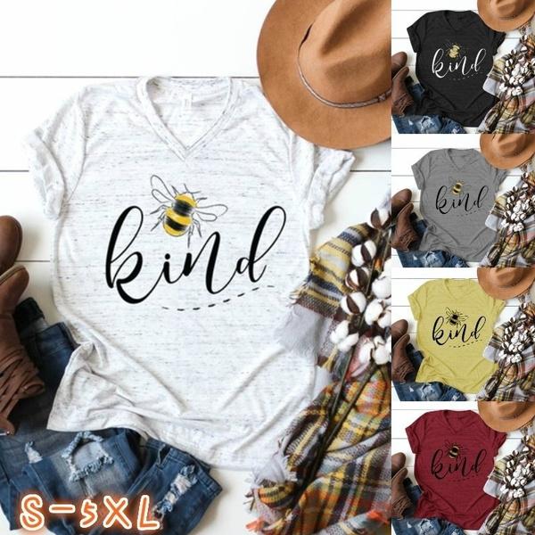 Summer, Plus Size, Cotton T Shirt, Women Blouse