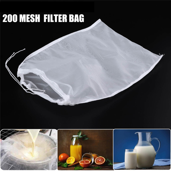 Food Special Colander Nut Milk Bag Cheesecloth Coffee Filter Nylon Fine Mesh