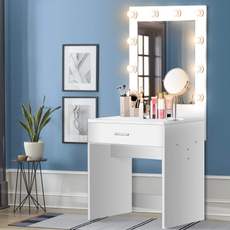 bedroomtable, mirrormakeup, Makeup Mirrors, led