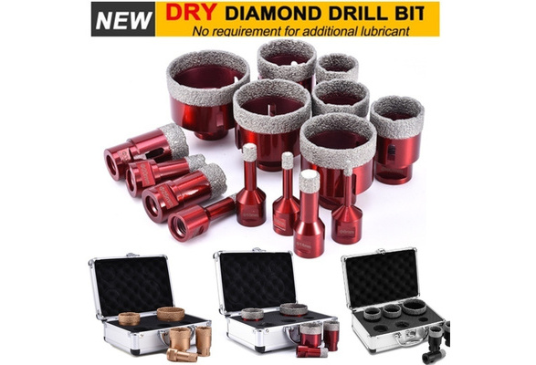 Dry Diamond Drill Bits For Porcelain Granite Glass Ceramics Marble Cutter Tools
