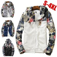 Casual Jackets, Plus Size, Summer, zipperjacket