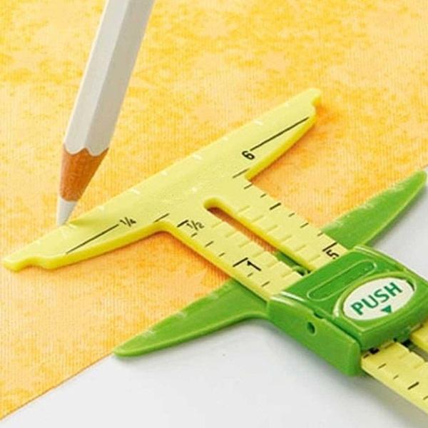 sewingruler, sewingtool, garmentruler, sewinggauge
