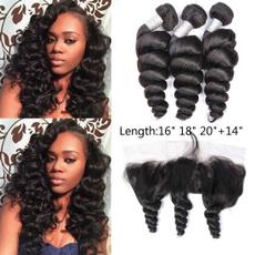 loosewavehairbundleswithclosure, hair, Curly Hair, sexy Women's Fashion