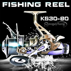 spinningreel, trollingreel, Metal, Fishing Tackle