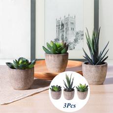 Bonsai, fauxsucculent, Home Supplies, Flowers