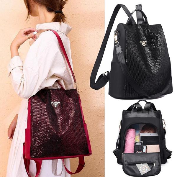 Shoulder Bags, Bling, women backpack, sequinbag