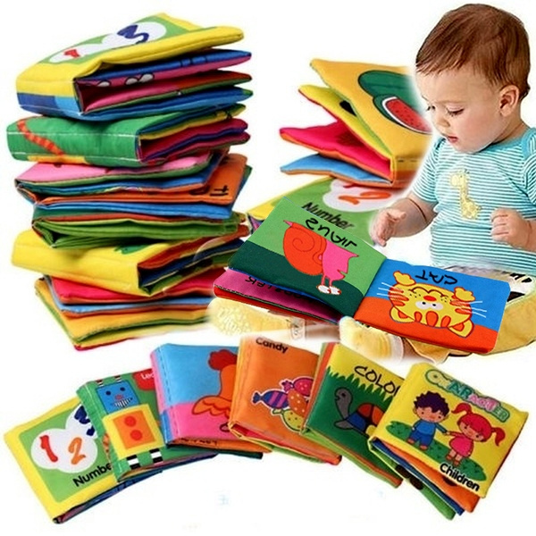 Educational Toy for Kid Baby Intelligence Development Cloth Bed Cognize Book