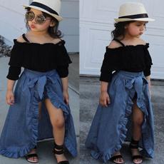 long skirt, Shorts, kids clothes, Fashion