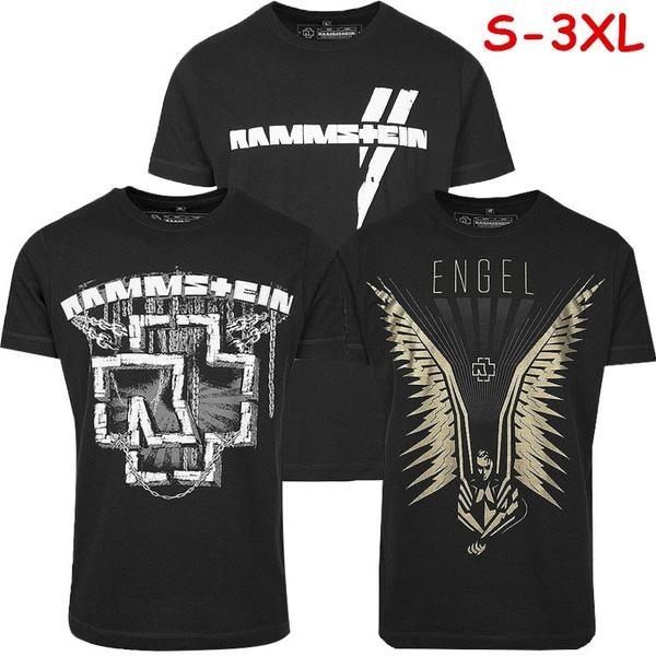 Plus Size, rammstein, mens tops, Graphic Shirt