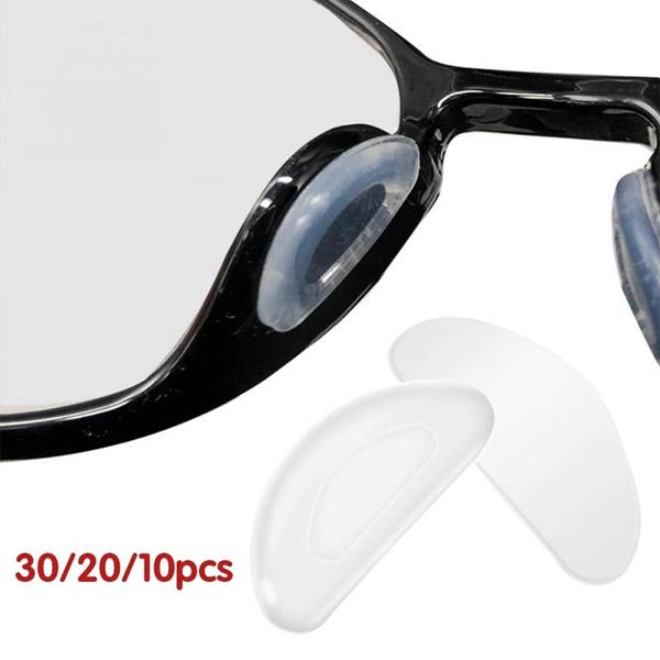 Eyeglass Sunglass Glasses Silicone Soft Nose Pads