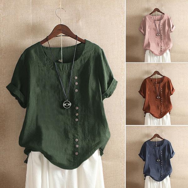 blouse, Summer, basictop, Shirt