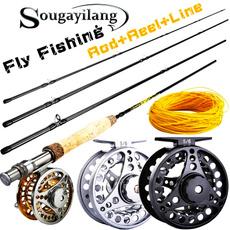 Fiber, flyfishingcombo, flyfishingtackle, Metal