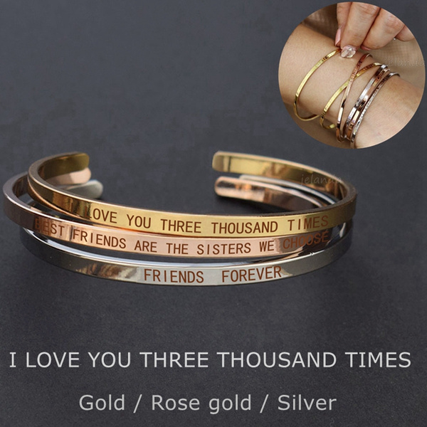 Forever Friendship Bangle Bracelet Best