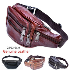 Fashion, leatherchestbag, Men, purses