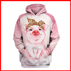 Hip-hop Style, 3D hoodies, Fashion, Cosplay