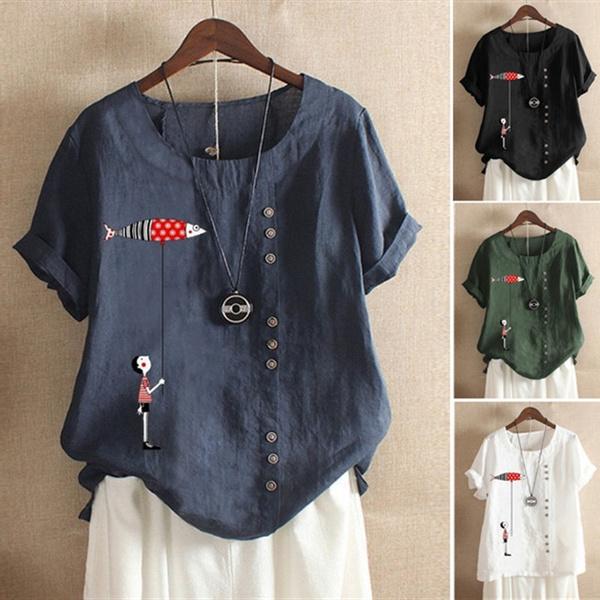 blouse, Plus Size, Blouses & Shirts, Shirt