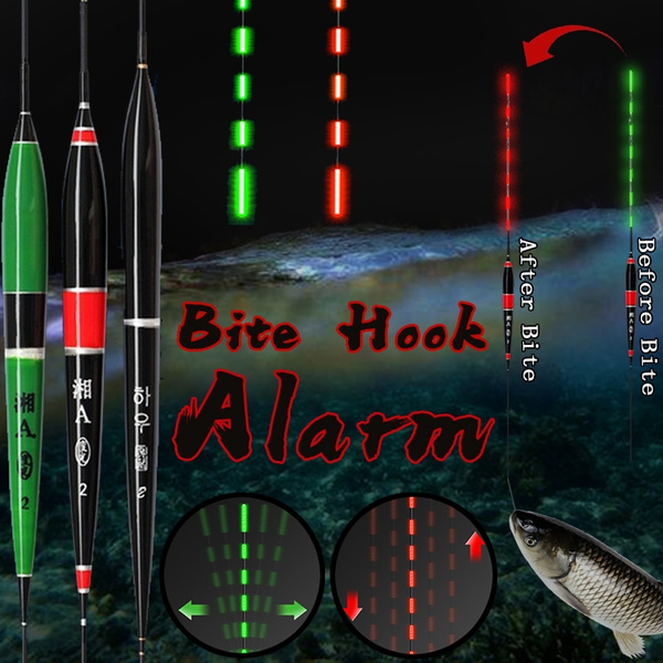 For LED Light Fishing Float Fish Bite Alarm Automatic Night Luminous Stick