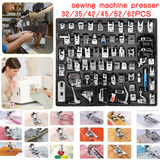 sewinggadget, presserfeet, sewing fabric, sewingset