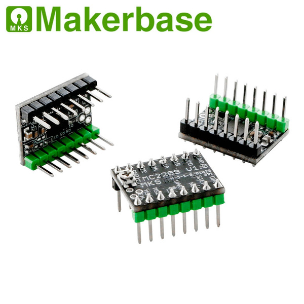5PCS MKS TMC2209 UART Stepper Motor Driver Stepsticks Mute Driver VS  TMC2208 TMC2130 For MKS SGen L Board 3D Printer Parts