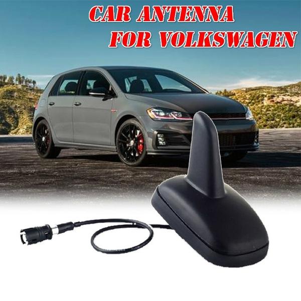 Auto parts Car Antenna For Volkswagen Jetta Golf Bora Black Auto Abs Durable