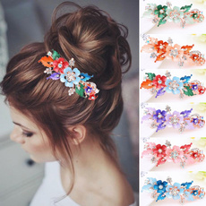 Flowers, Barrettes, Jewellery, headwear