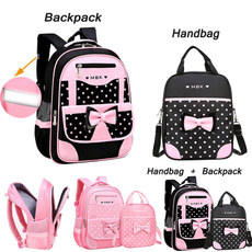 cute, School, children backpacks, Princess