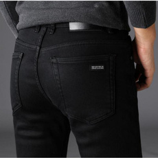 men's jeans, biker, trousers, blackjean