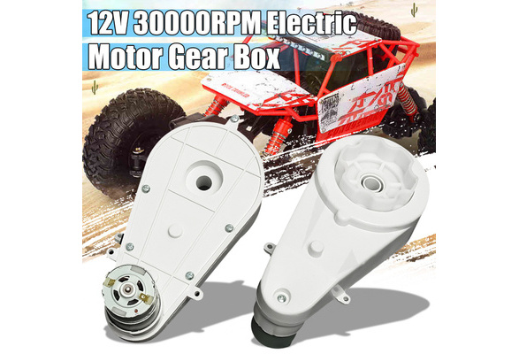12V 30000RPM Electric Motor Gear Box For Kids Ride On Bike Car 10T