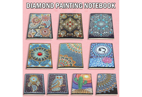 35 Styles 50 60 Pages Students A5 Notebook Diy Diamond Painting