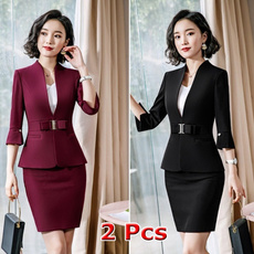 work dress, Two-Piece Suits, office dress, Office