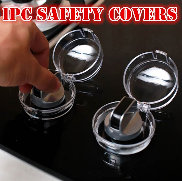 Child Proof Stove Guard Safety Knobs Gas Oven Switch