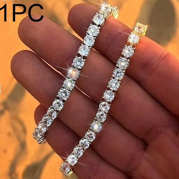 Cubic Zirconia, DIAMOND, Jewelry, icedout